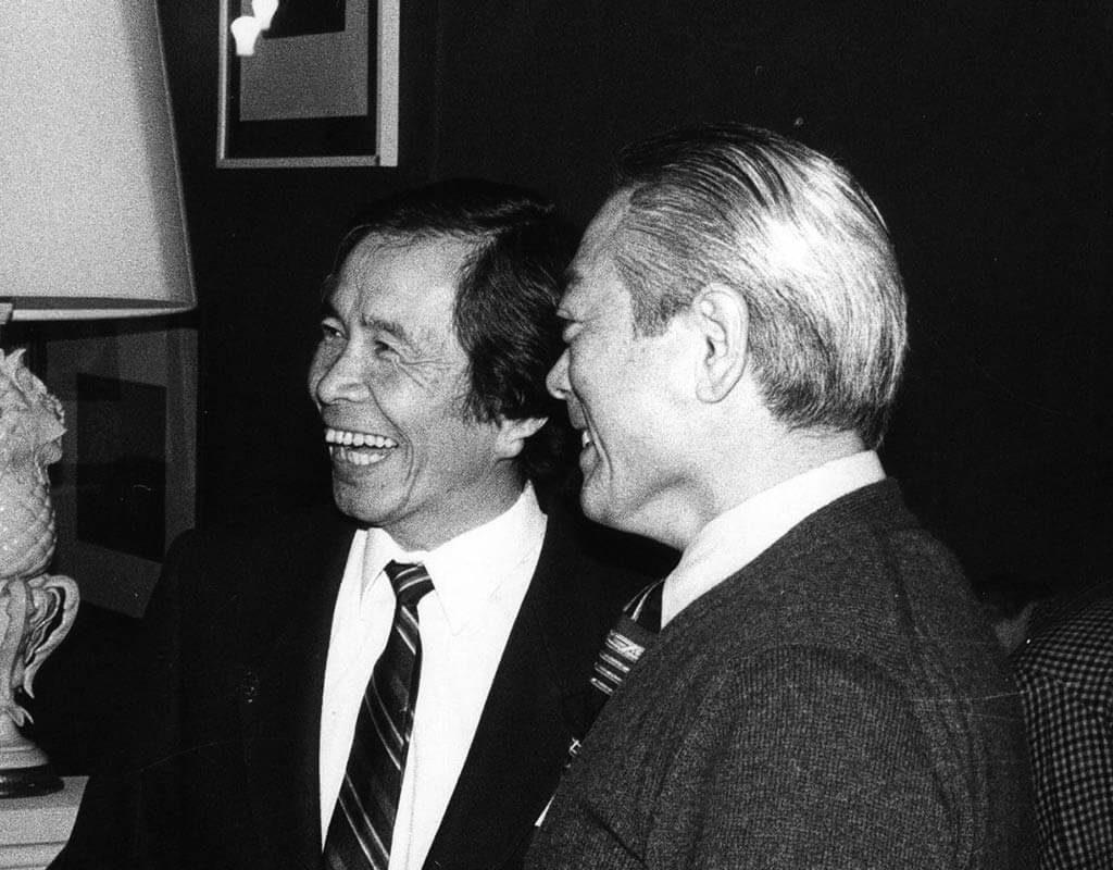 Tamura Shihan et Kobayashi Shihan